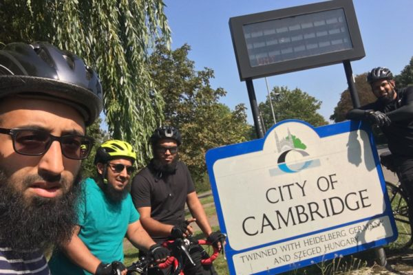 Bike ride to Cambridge